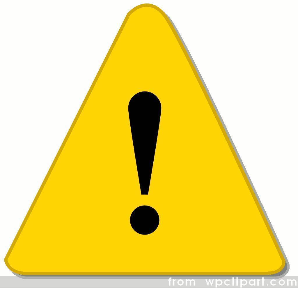 жёлтый треугольник с восклицательным знаком на компьютере - фото 2